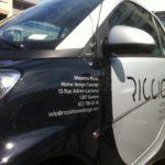Décoration de véhicules, stickers, windows, adhésifs, impressions numériques, voitures, voiture, car wrapping, smart