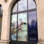 pochoir, lettrage, autocollant, lettres autocollantes, lettres adhésives, décoration de vitrine, impression numérique détourée, impression, print, stickers, signalétique, Julius Baer