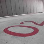 peinture, pochoir, signalétique, paint, marquage routier,