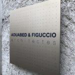 Plaque de porte, plaques de porte, plaque professionnelle, signalétique, impression, gravure, aluminium